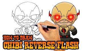 How to Draw Reverse Flash | DC Comics