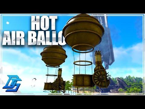 Ark Survival Evolved - Steampunk / AG  - Pt 6 - Hot Air Balloon in Ark ?!?!  (Modded)
