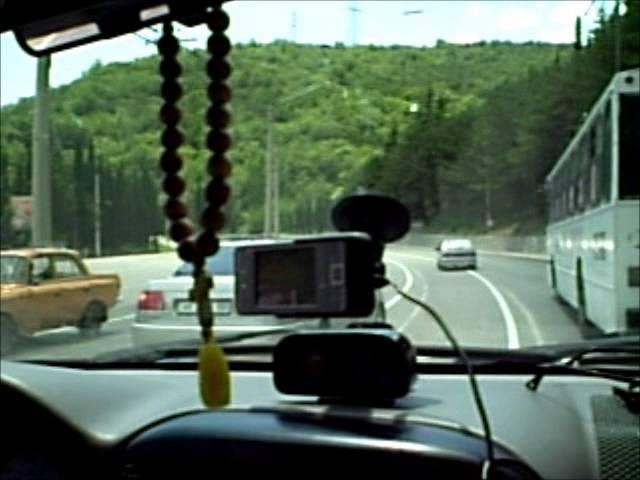 Крым, вид из окна автомобиля. Crimea. yt:quality=high: