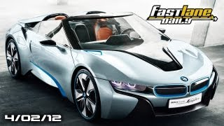 bmw i8 spyder concept mini goes camping future mercedes models cow