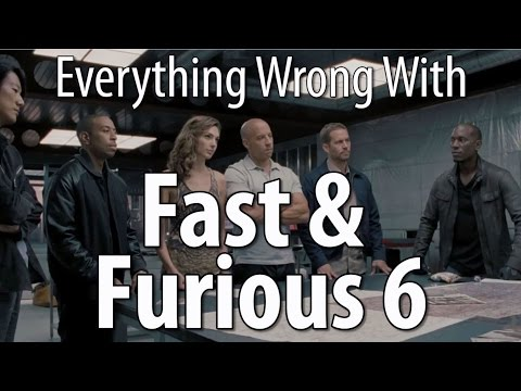 Everything Wrong With Fast & Furious 6 poster