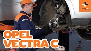 How to replace Suspension springs on OPEL VECTRA C - video tutorial