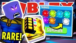 7 ANIMAUX À L'INFINI SECRETS ! THANOS EST un BULLY! EN ROBLOX BUBBLEGUM SIMULATOR [UPDATE 31]