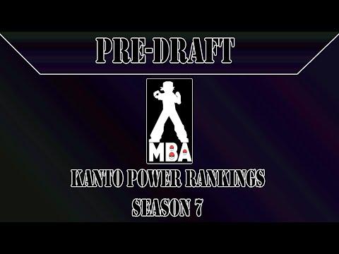 MBA Season 7 Preseason Rankings - Kanto