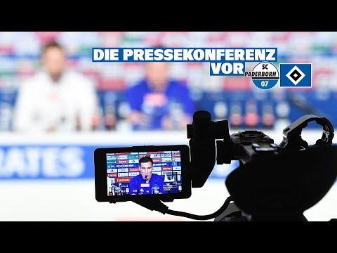 RELIVE: Die Pressekonferenz vor dem Spiel beim SC Paderborn