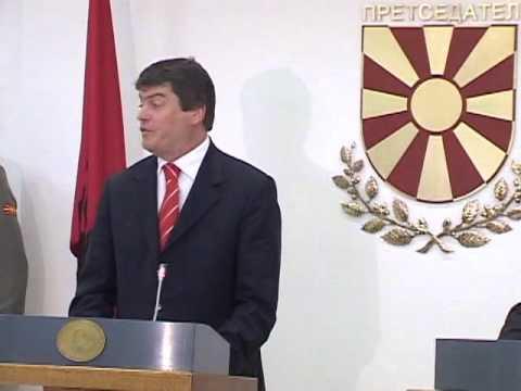 Bamir Topi ne Shkup