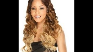 FREETRESS EQUAL LACEFRONT BRAID HAIRLINE~ICY