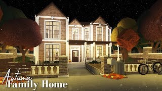 Bloxburg: Autumn Family Home 🍂🌻🍁
