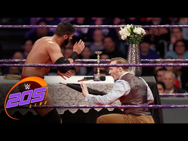 Jack Gallagher vs. Ariya Daivari – Gentlemen's Duel: WWE 205 Live, Dec. 27, 2016
