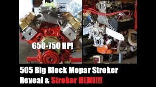 Ratty Charger Jezebel 505 Mopar Stroker Reveal & Stroker Hemi FIX!