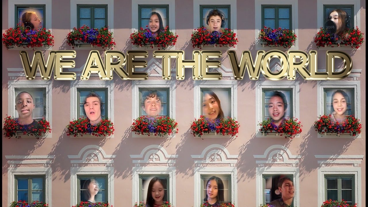 """World Collaboration """"Cover We are The World"""""""