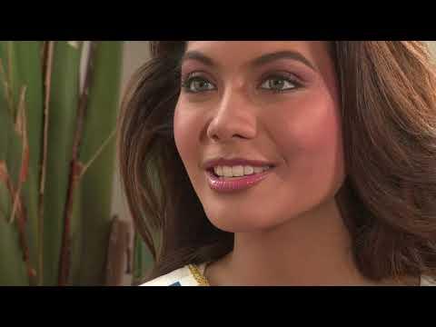 Interview de Miss France avant son arrivée à Tahiti