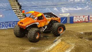 Monster Jam Pittsburgh, PA 2017 (Feb. 11th 1:00 Show) Wheelies & ATV Racing