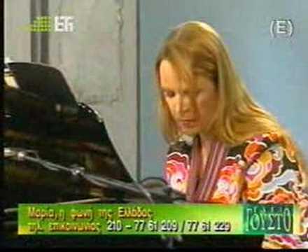 Maria Farantouri  Pame mia volta sto feggari tvlive