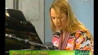Maria Farantouri - Pame mia volta sto feggari (tv-live)