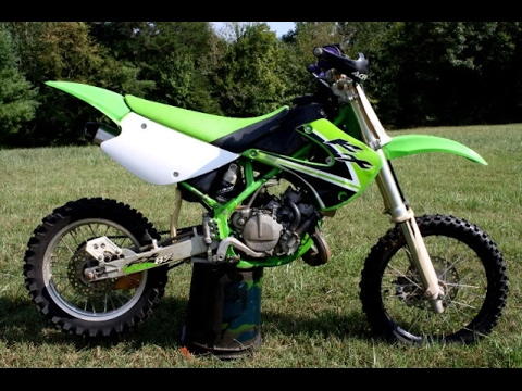 riding my 2001 kx 85 in february 2017 youtube. Black Bedroom Furniture Sets. Home Design Ideas