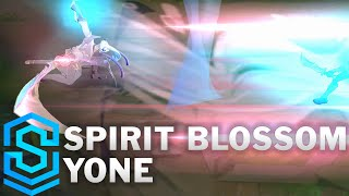 Spirit Blossom Yone Skin Spotlight - Pre-Release - League of Legends