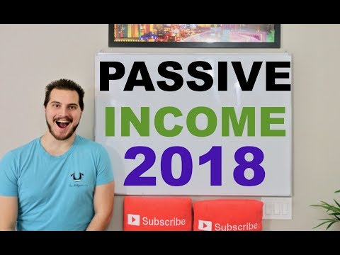 Top 5 Passive Income Ideas 2018