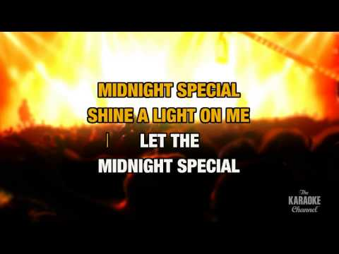 "The Midnight Special in the Style of ""Creedence Clearwater Revival"" with lyrics (no lead vocal)"