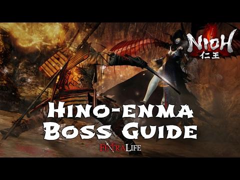 Hino-enma Boss Fight  (Nioh)
