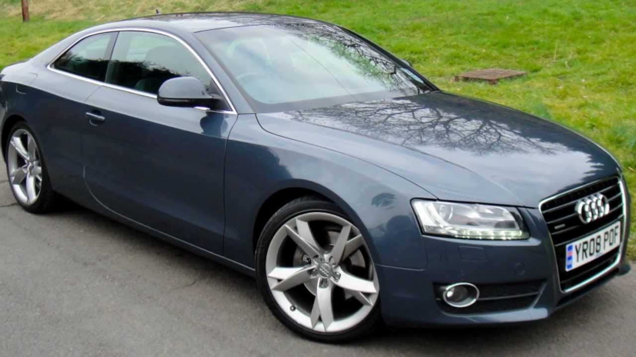 audi a5 3.0 tdi sport quattro - www.pwcars.co.uk - youtube