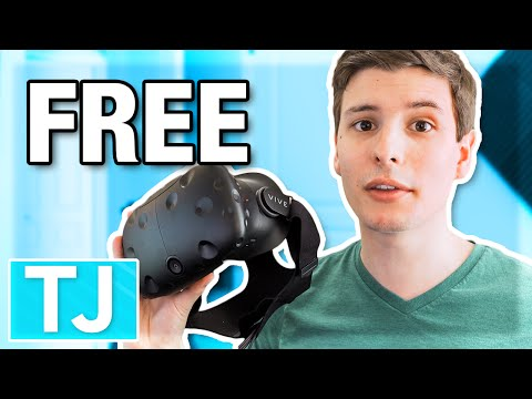How to Get an HTC Vive for Free