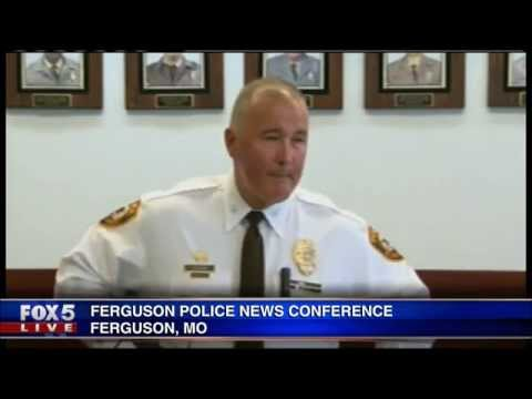 Officials discuss officer shootings in Ferguson, MO