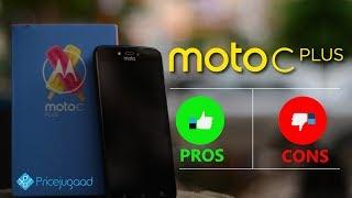 Moto C Plus Review - Pros & Cons | Good & Bad | Verdict