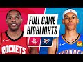 ROCKETS at THUNDER | FULL GAME HIGHLIGHTS | February 3, 2021