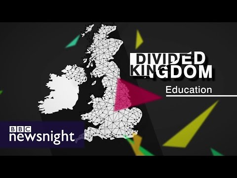 Divided Kingdom: Why education could determine how you vote - BBC Newsnight