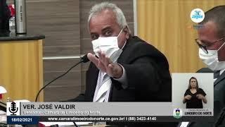 Valdir do Suburbão    Câmara de Limoeiro do Norte 18 02 21