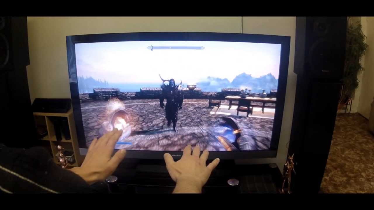 Leap Motion PC Games SKYRIM YouTube