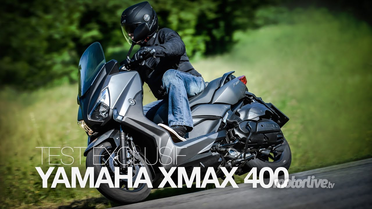 test exclusif yamaha xmax 400 youtube. Black Bedroom Furniture Sets. Home Design Ideas