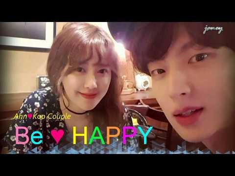170521 First Wedding Anniversary Of AhnKoo Couple-love