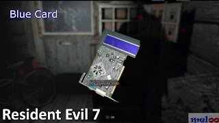 Resident Evil 7: Red and Blue Keycard Guide (How to get - Biohazard 7)