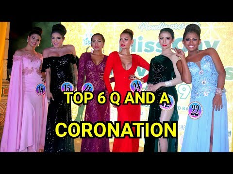 FINAL 6 Q AND A AND CORONATION MISS GAY NOVALICHES 2019 PART 6