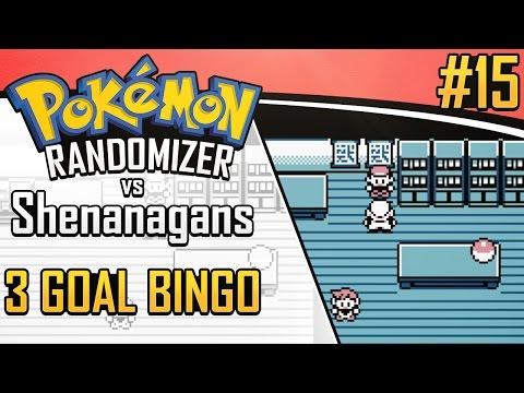 Pokemon Randomizer 3 Goal Bingo vs Shenanagans #15