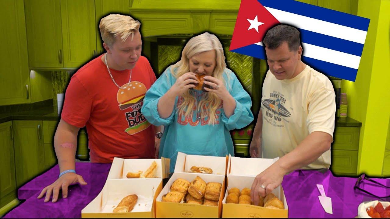 TRYING CUBAN FOOD WITH JESSALYNN SIWA!!!