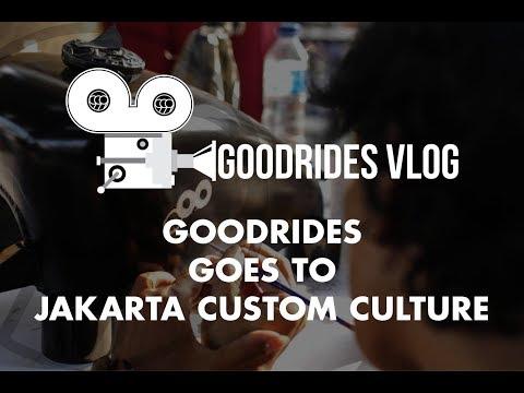 GOODRIDES VLOG // GOODRIDES GOES TO JAKARTA CUSTOM CULTURE