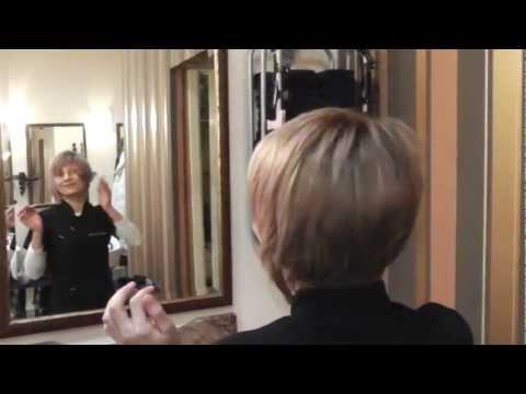 Online Hair Academy: Cutting a Bob Using a Layer Technique Haircut
