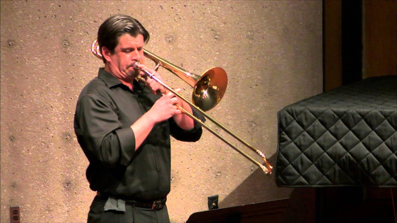 Jeremy Moeller Trombone Arnold Fantasy For Trombone Op 101 Youtube