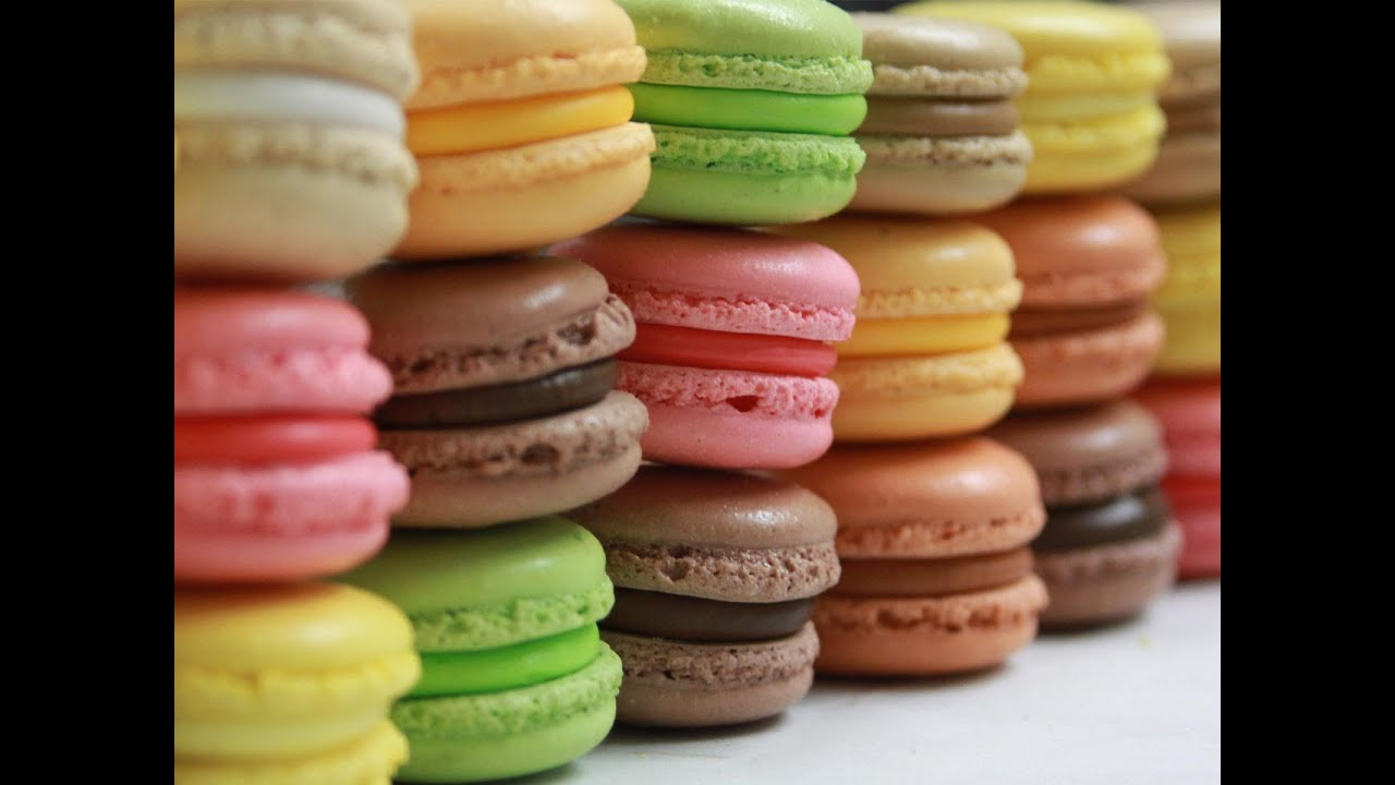 how to make french macarons youtube