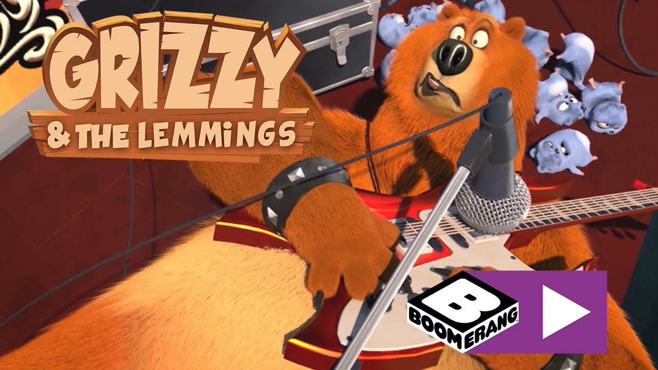 Grizzy i lemingi | Rockandrollowe lemingi | Boomerang
