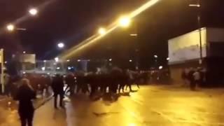 Football Hooligans - Man City v Everton - 2015