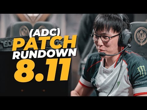 Doublelift - 8.11 PATCH RUNDOWN FOR MARKSMAN (IN LESS THAN 3 MINUTES)