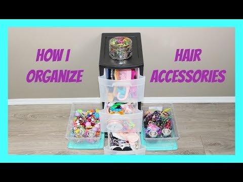 How I Store Hair Accessories 🎀
