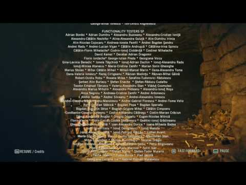 """""""Assassin's Creed: Unity"""" Game Credits"""
