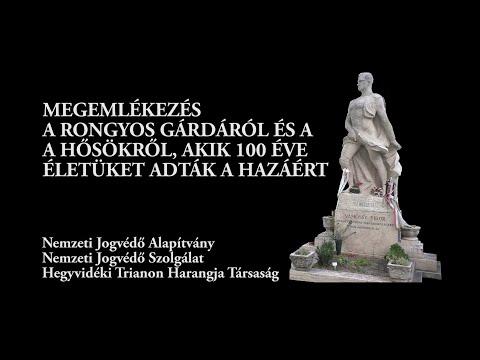 Nemzeti jogvédő emlékezés a dicsőséges Rongyos Gárdára (2021. augusztus 27.)