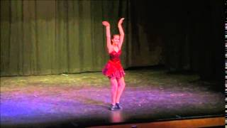 Brooke Alexander Tap Solo 2014 Up the Lazy River