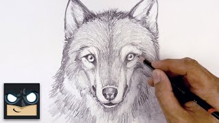 How To Draw A Wolf | Sketch Tutorial